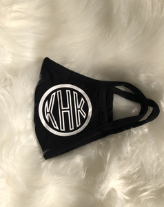 Custom Block Monogram Mask