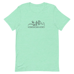 Homegrown Honey Short-Sleeve Unisex T-Shirt