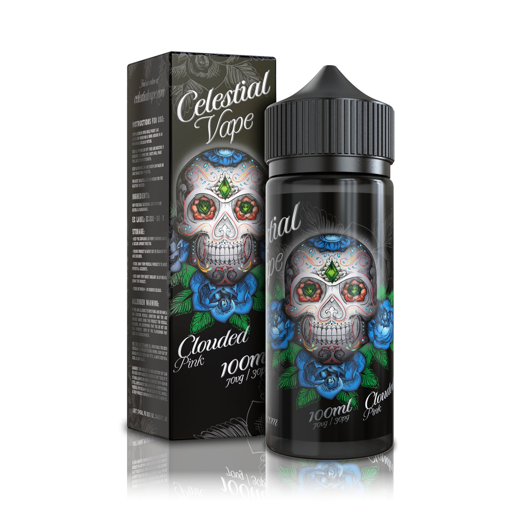 Celestial Vape 100ml Clouded Pink