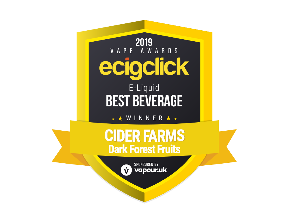 Cider Farms 100ml Dark Forest Fruits - Award Winning - Best Beverage 2019