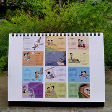 Load image into Gallery viewer, 2021 LoveHandle Comics Desk Calendar
