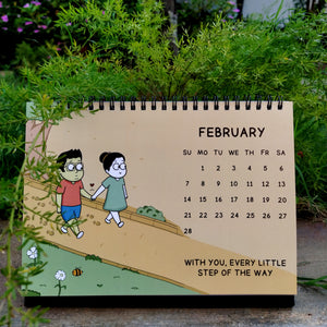 2021 LoveHandle Comics Desk Calendar