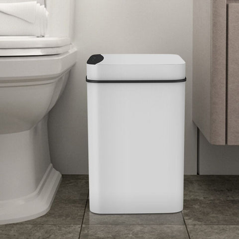 CleanGuardX Touchless Automatic Sensor Bin fits in the kitchen, the toilet, at home or the office. Ideal as a secondary sensor kitchen bin, a sensor bathroom bin or a sensor toilet bin. Great touchless kitchen bin, touchless bathroom bin or touchless toilet bin.