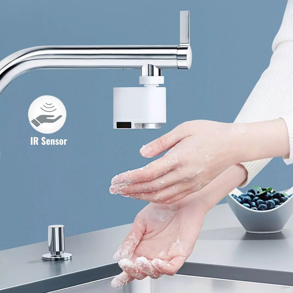 CleanGuardX Touchless Automatic Water Tap & Faucet Sensor Adapter