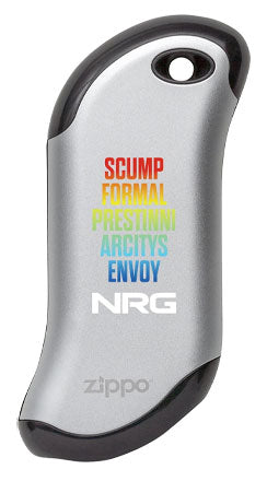 Silver NRG Exclusive Design Hand Warmer
