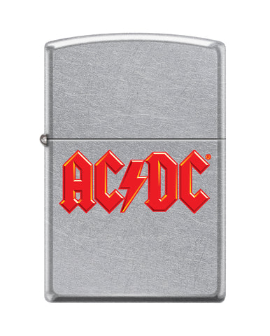 Frontansicht Zippo Feuerzeug AC/DC Cover