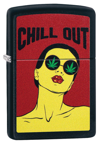 Chill Out Leaf Design