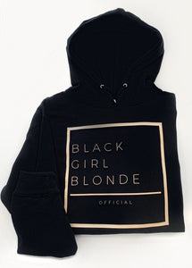 Black Girl Blonde Classic Fit Full Hoodie( Not Cropped)