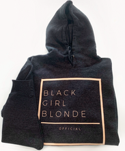 Load image into Gallery viewer, Black Girl Blonde Classic Fit Full Hoodie( Not Cropped)