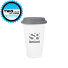 11 oz Porcelain Terra Tumblers with Silicone Lid