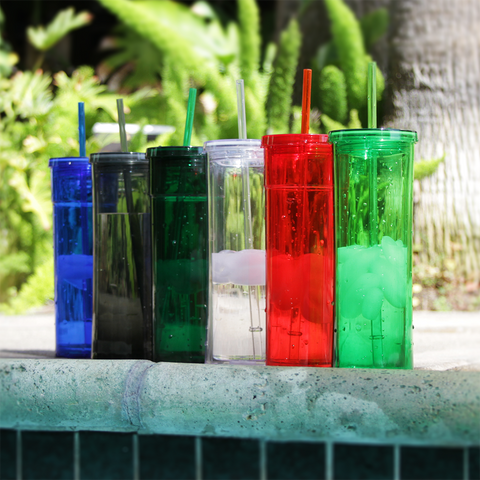 16 oz Double Walled Acrylic Torino Tumblers *Stocked in the USA*