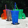 16 oz Made in America BPA Free Plastic Tumblers Case of 39 pcs *Special* *1 Case Left*