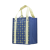 Reusable Versailles Pattern Prints Reinforced Bags - Set of 4