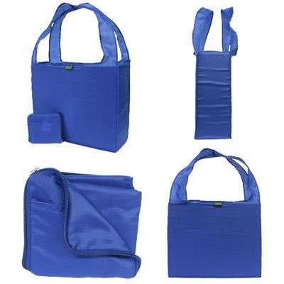 Z-totes - Reusable Nylon Zipper Tote Bags 5 pack