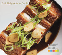 PORK BELLY ADOBO CONFIT