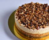 TOFFEE COFFEE CHEESECAKE