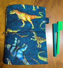 Load image into Gallery viewer, Handmade Notebook - Dino - A5 - TNN025