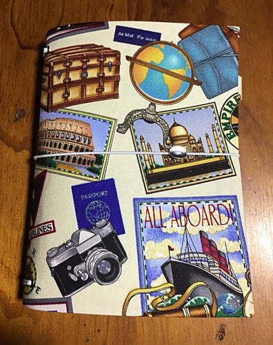 Handmade Notebook  - Overseas Adventures - A5 - TNN018
