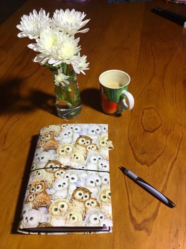 Handmade Notebook  - It's a Hoot - A5 TNN016