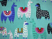 Load image into Gallery viewer, Handmade Notebook - Gala Llama - A5 TNN019