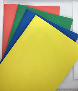 Accessories -Notebook Inserts-Lined - Plain Colours - 100gsm  (NB001)