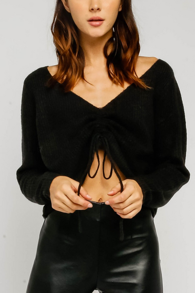 Maureen Cropped Sweater