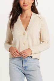 Lolita Crop Cardigan in Cream
