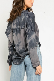 Smoke and Mirrors Tie Dye Top