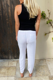 White Everyday Jogger