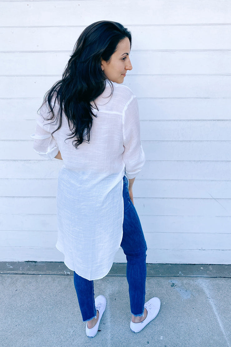 Lightweight Tunic Cover-up