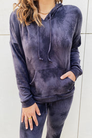 Charcoal Tie Dye Cozy Set