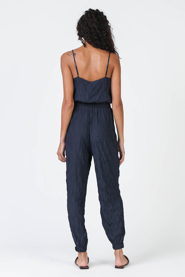 Milan Navy Jumpsuit