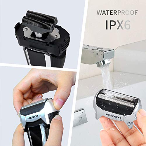 2 IN 1 Electric Foil Shaver with USB Charging