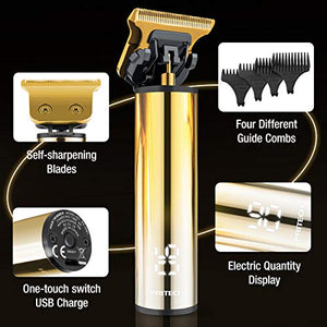 Electric Hair Clipper With USB Recharge