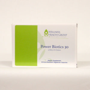 POWER BIOTICS 30 - Promotes Gut Health & Digestion