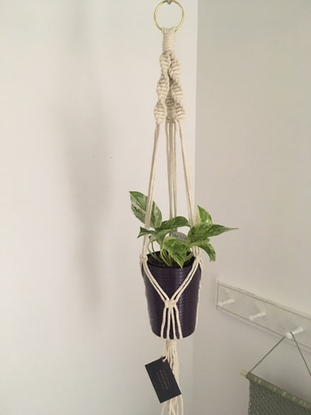 *Made-to-Fit* Macrame Plant Hanger