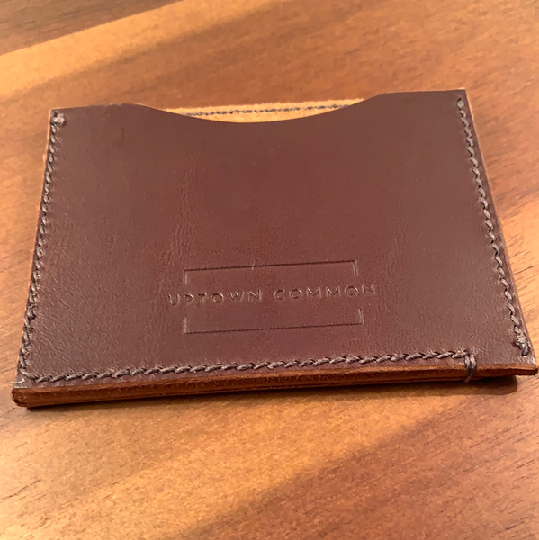 Slim Leather Wallet - Brown