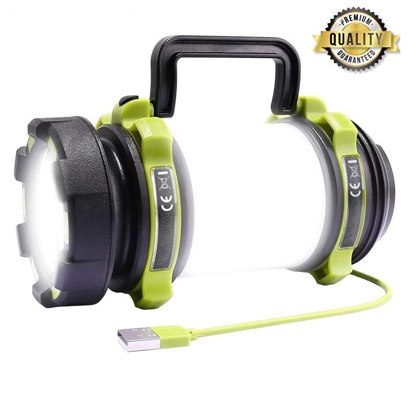 USB Rechargeable LED Torch Camping Lantern