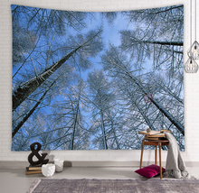 Load image into Gallery viewer, Forest Printed Wall Tapestry