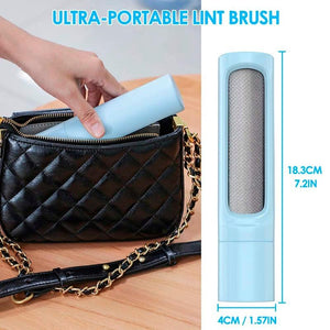 2-1 Reusable Pet Hair Remover Brush
