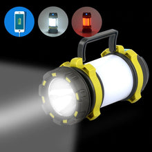 Load image into Gallery viewer, USB Rechargeable LED Torch Camping Lantern
