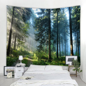 Forest Printed Wall Tapestry