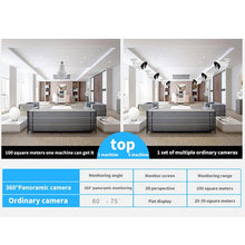 Load image into Gallery viewer, Full HD 360° Panoramic Wireless Security IP Camera