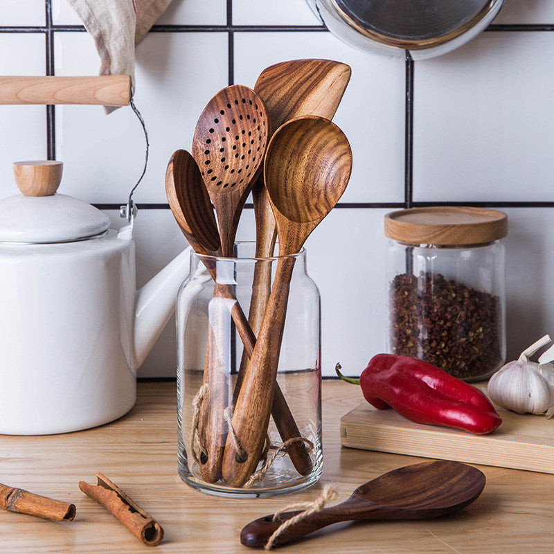 Walnut Utensil Set