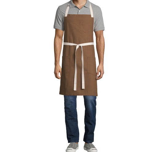 Caramel Denim Apron