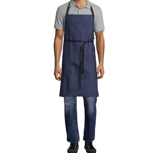 The Blue Denim Apron