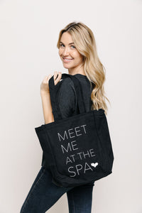 Meet Me at the Spa Classic Tote Bag | Lucky Owl