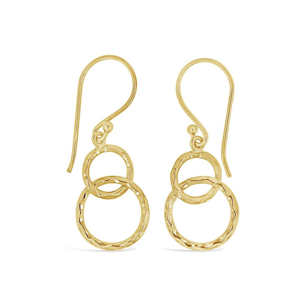 Infinity Circles French Hook Dangles | Little Sparkles