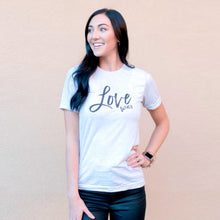 Load image into Gallery viewer, Love Wins Unisex Crew Neck T-Shirt | Lucky Owl