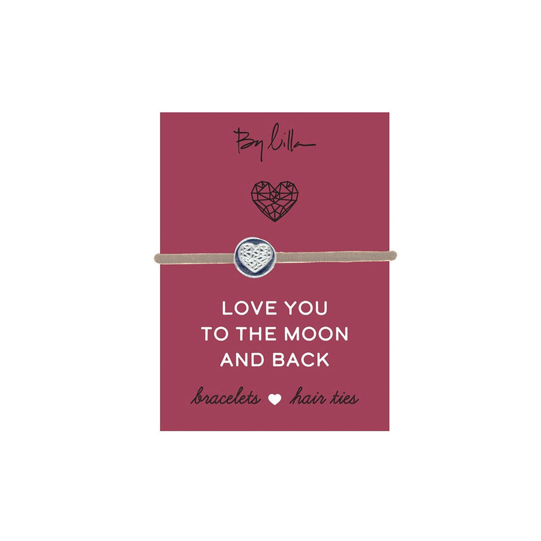 Moon and Back Hair Tie | By Lilla